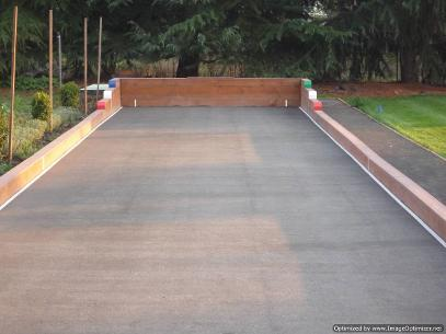 Bocce Court Surfaces Natural Oyster Flour Surface